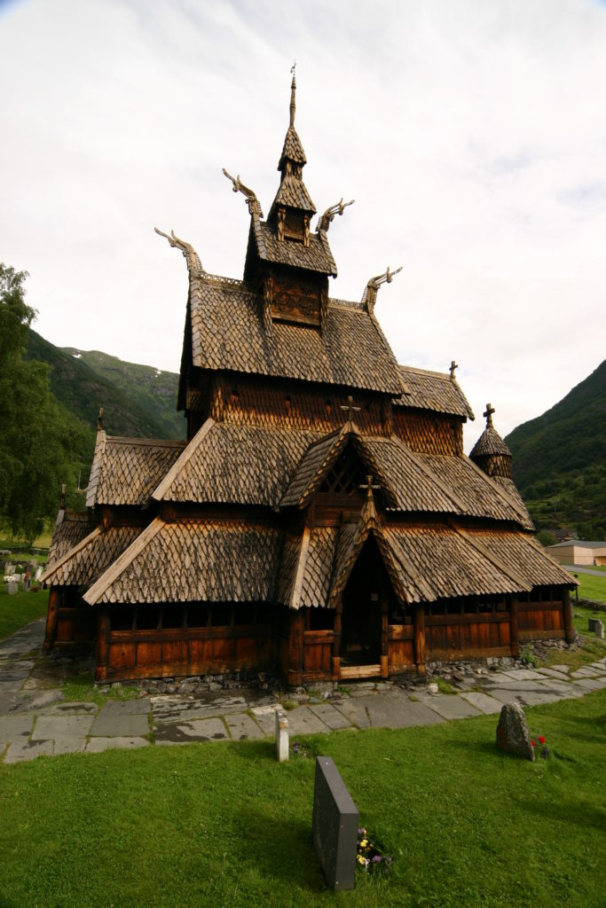The Borgund Stave church in Norway